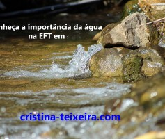 A importância da água na EFT