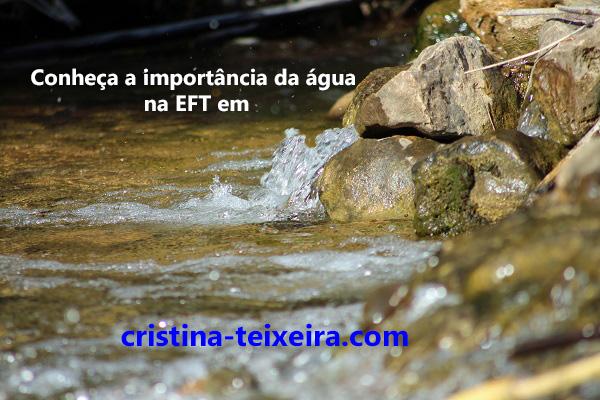 importância da água na eft