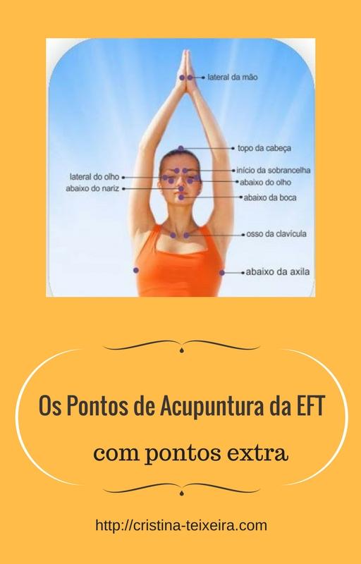 pontos de acupuntura da eft